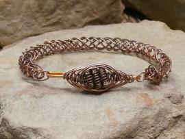 Copper Round Braid Bracelet