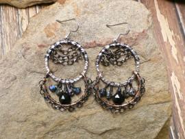 Mystic Gypsy Double Hoop Earrings