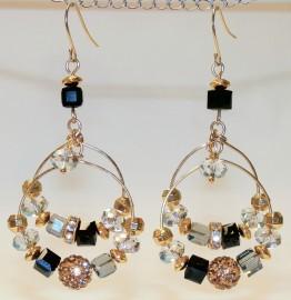 Gold Gypsy Double Hoop Earrings
