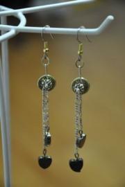 38 Special Heart Dangle Earrings