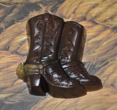 Cowboy Boot Soap Rustic Passion